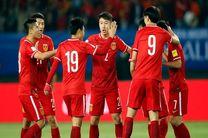 نخستین پیروزی چین با معجزه لیپی مقابل کرهجنوبی