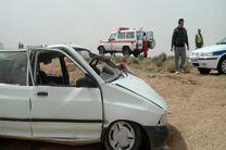 2 مصدوم در حادثه واژگونی پراید در محور قوچان به فاروج