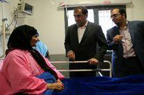وزیر بهداشت از بیمارستان امام خمینی سنقر بازدید کرد