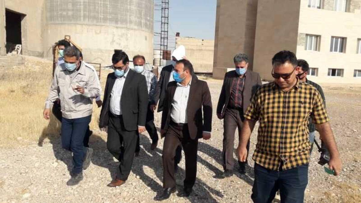 سازمان بازرسی به راه اندازی و فعال سازی کارخانه سیمان دهلران کمک می کند