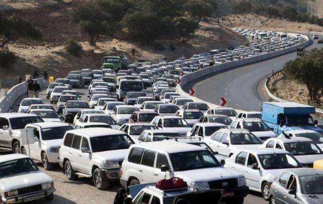 آخرین وضعیت ترافیکی محورهای منتهی به 4 پایانه مرزی اربعین