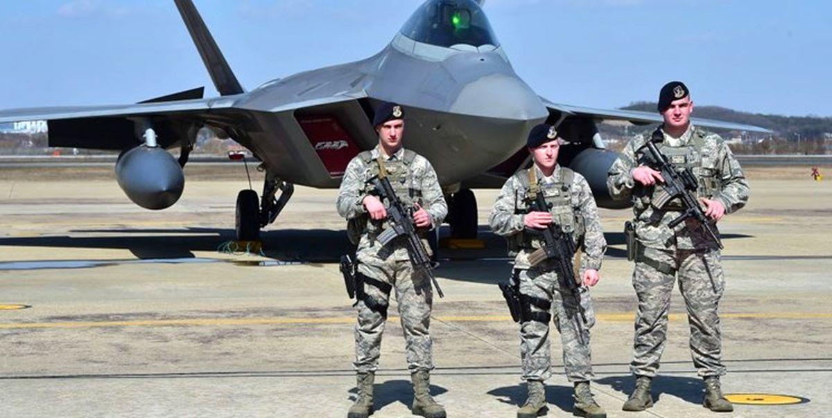 انفجارهای پیدرپی در پایگاه نظامیان آمریکایی در سوریه