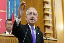 قلیچدار اغلو توافق میان ترکیه و رژیم صهیونیستی را محکوم کرد