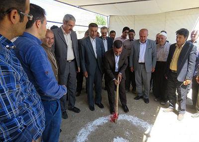 آغاز ساخت دو مدرسه در مناطق محروم کردستان با حمایت بانک ملی ایران