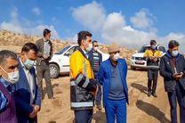 پیگیری و بازدید نماینده تفت و میبد از خسارات سیل در روستاهای تفت