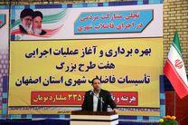 افتتاح بیش از ۳۵۶ میلیارد تومان پروژه های عمرانی آب و فاضلاب استان اصفهان