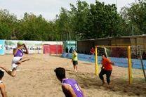 رقابت های هندبال ساحلی قهرمانی کشور در کازرون آغاز شد