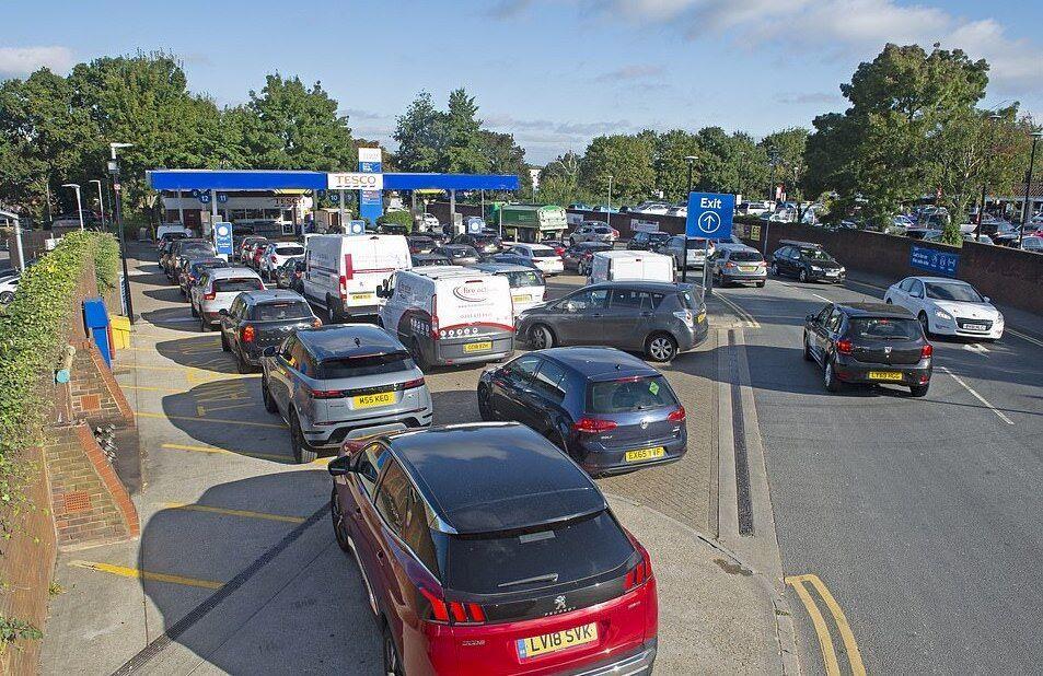 بحران بنزین در انگلیس
