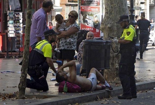 ۲۶ نفر از مجروحان عملیات تروریستی اسپانیا، فرانسوی هستند