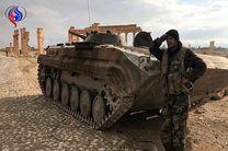 کنترل ارتش سوریه بر مناطقی در اطراف تدمر
