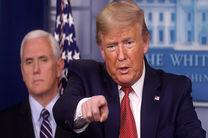 تمامی افراد نزدیک به رئیس جمهور آمریکا باید تست کرونا بدهند