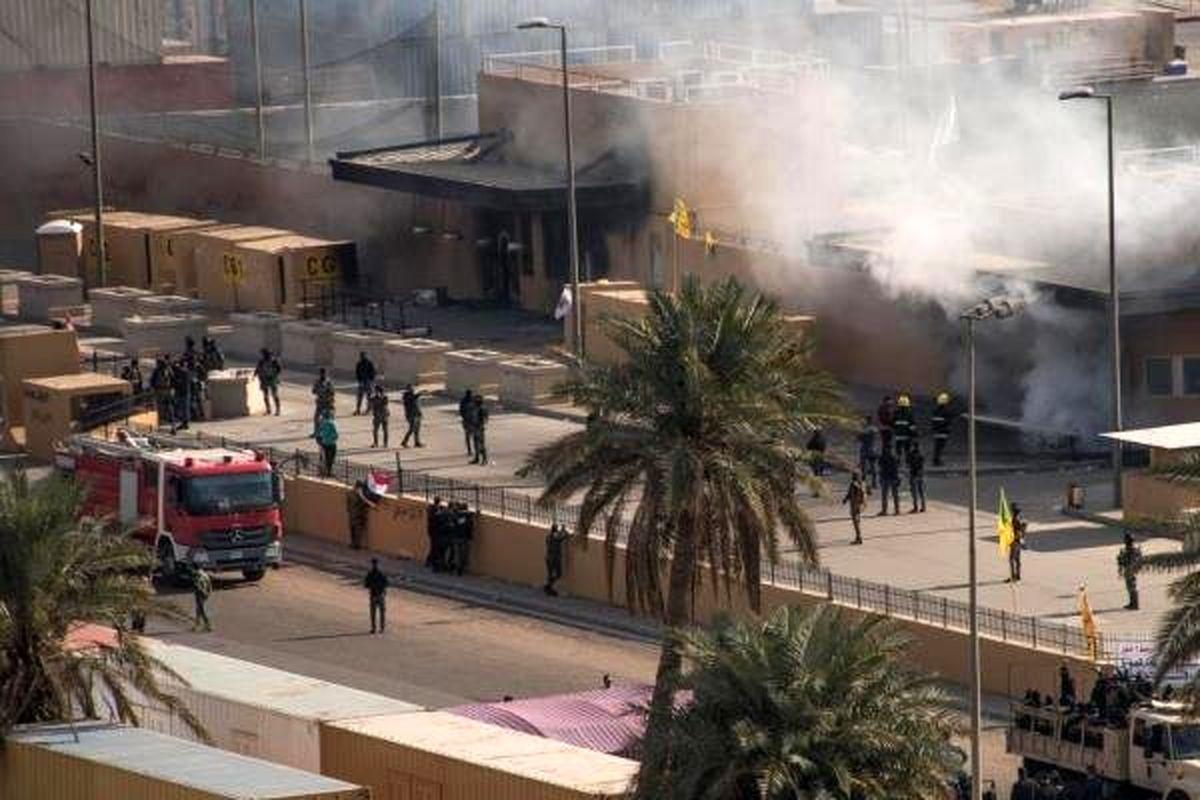 حمله راکتی به سفارت آمریکا در «بغداد»