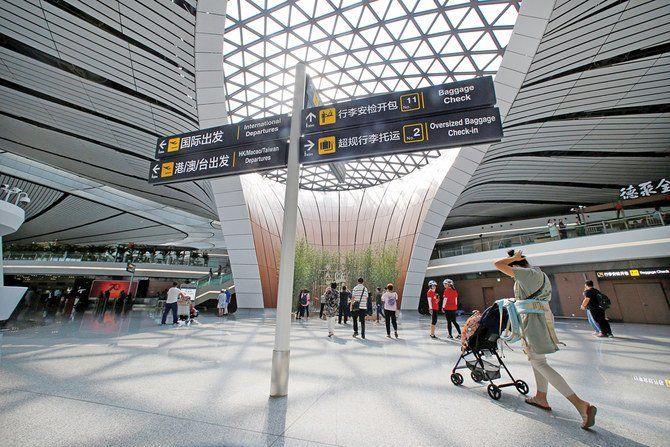 فرودگاه  63 میلیارد دلاری پکن آغاز به کار کرد