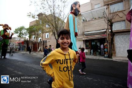 كاروان عروسكي نوروز  1400 در مناطق محروم تهران