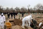 درب آرامستانهای کرمانشاه به دلیل شیوع کرونا بسته شد
