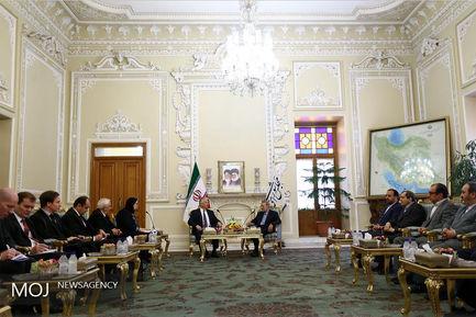 دیدار معاون نخست وزیر مجارستان با علی لاریجانی