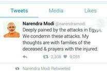 نخست وزیر هند انفجارهای روز گذشته مصر را محکوم کرد