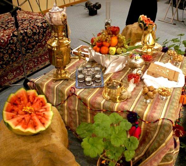 برگزاری اولین جشنواره سنتی شب چله در شهرستان تیران