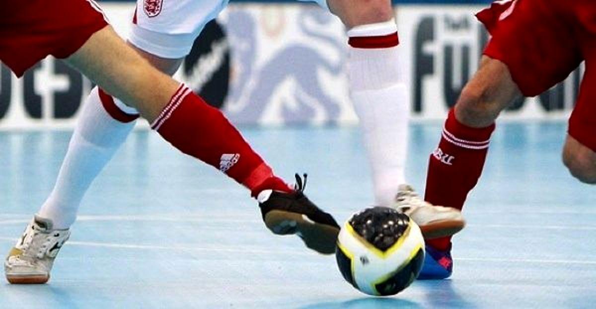 پیروزی تیم فوتسال آیندگان هرمزگان مقابل پدیده فیروزکوه