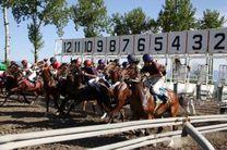 رقابت 65 راس اسب در هفته سوم مسابقات اسبدوانی کورس بهاره گنبدکاووس