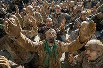 اجرای نمادین «آئین گل مالی» مردم لرستان در شانزدهمین اجلاس بینالمللی پیرغلامان و خادمان حسینی