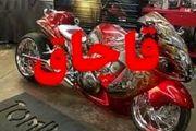 توقیف موتورسیکلت ۷۰۰ میلیونی قاچاق در بهشهر