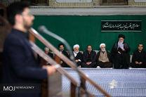 مراسم عزاداری اربعین حسینی با حضور مقام معظم رهبری