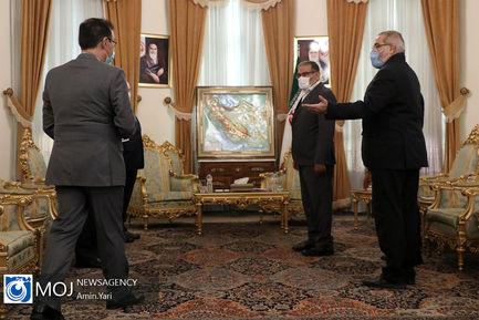 دیدار وزیر خارجه سوریه با علی شمخانی