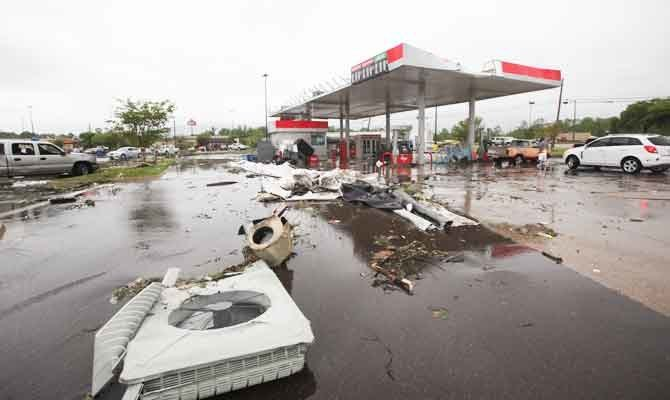 طوفان شدید در جنوب آمریکا، 8 کشته برجا گذاشت