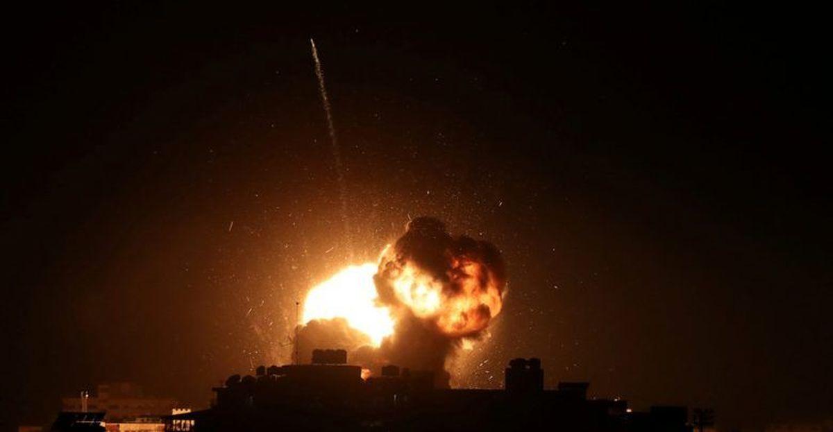 تهاجم هوایی رژیم صهیونیستی به جنوب نوار غزه