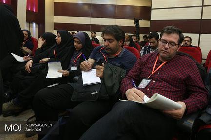 نشست خبری سرپرست سازمان اورژانس کشور