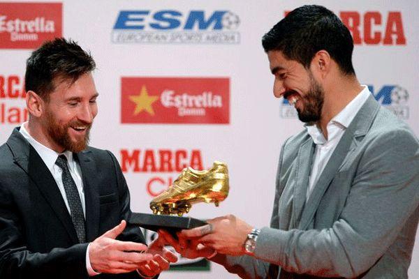 کفش طلای اروپا برای چهارمین بار به لیونل مسی رسید