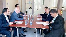 ظریف با همتای عراقی خود دیدار کرد