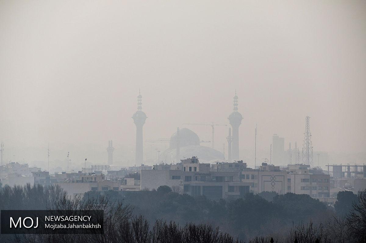 کیفیت هوای اصفهان برای عموم بسیار ناسالم است