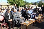 11 کیلومتر آسفالت راه روستایی رودبار افتتاح شد