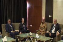 مذاکرات معاونان رئیس جمهور عراق با بارزانی