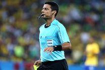 فغانی در صدر جدول بهترین داوران جام جهانی قرار گرفت