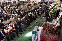 چهلمین روز جانباختگان زلزله کرمانشاه در سرپل ذهاب برگزار شد