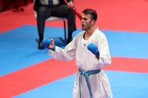 کاراته کار قزوینی به وعده خود وفا کرد/ مرد طلایی ایران در تاتامی مادرید