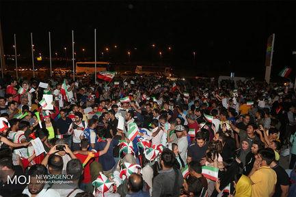 بازگشت+افتخارآفرینان+تیم+ملی+فوتبال+به+ایران