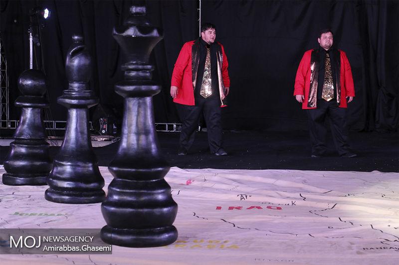 یکی از آثار اوژن یونسکو نمایشنامه نویس مشهور فرانسوی به روی صحنه می رود