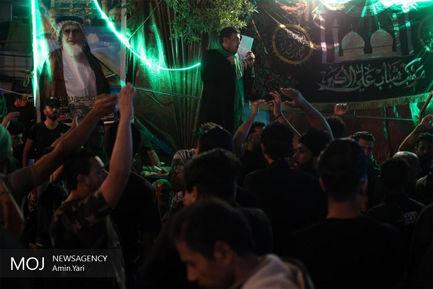عزاداری شب اربعین حسینی (ع) در  بین الحرمین