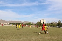 برگزاری مسابقات فوتبال دانش آموزی شرق هرمزگان در میناب