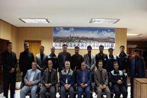 برگزاری اولین جلسه هیات رئیسه جدید شورای اسلامی شهرستان لنجان در ذوب آهن اصفهان