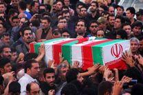 پیکر شهید مدافع حرم «عباس حسینی» در فیروزآباد تشییع شد