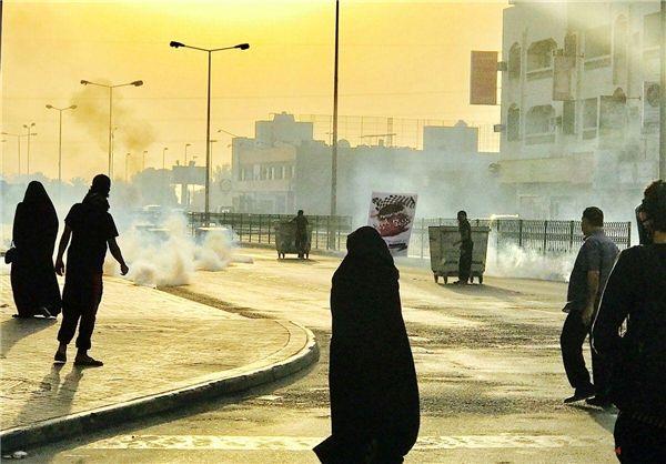 تظاهرات مردم بحرین در اعتراض به برگزاری مسابقات فرمول ۱