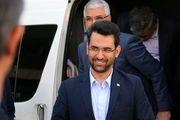 وزیر ارتباطات دقایقی پیش وارد لرستان شد