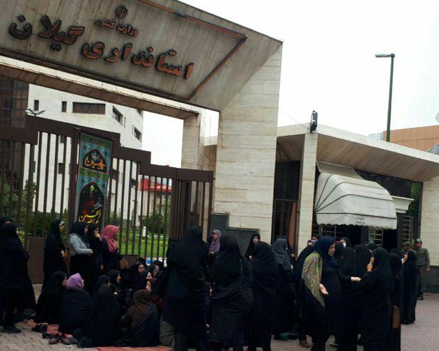 تجمع دانشجویان دانشگاه امیرکبیر در واکنش به سخنان ترامپ