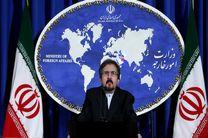 ابراز خرسندی سخنگوی وزارت خارجه از تبرئه نرگس کلباسی