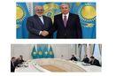 ظریف با رییسجمهور قزاقستان دیدار کرد